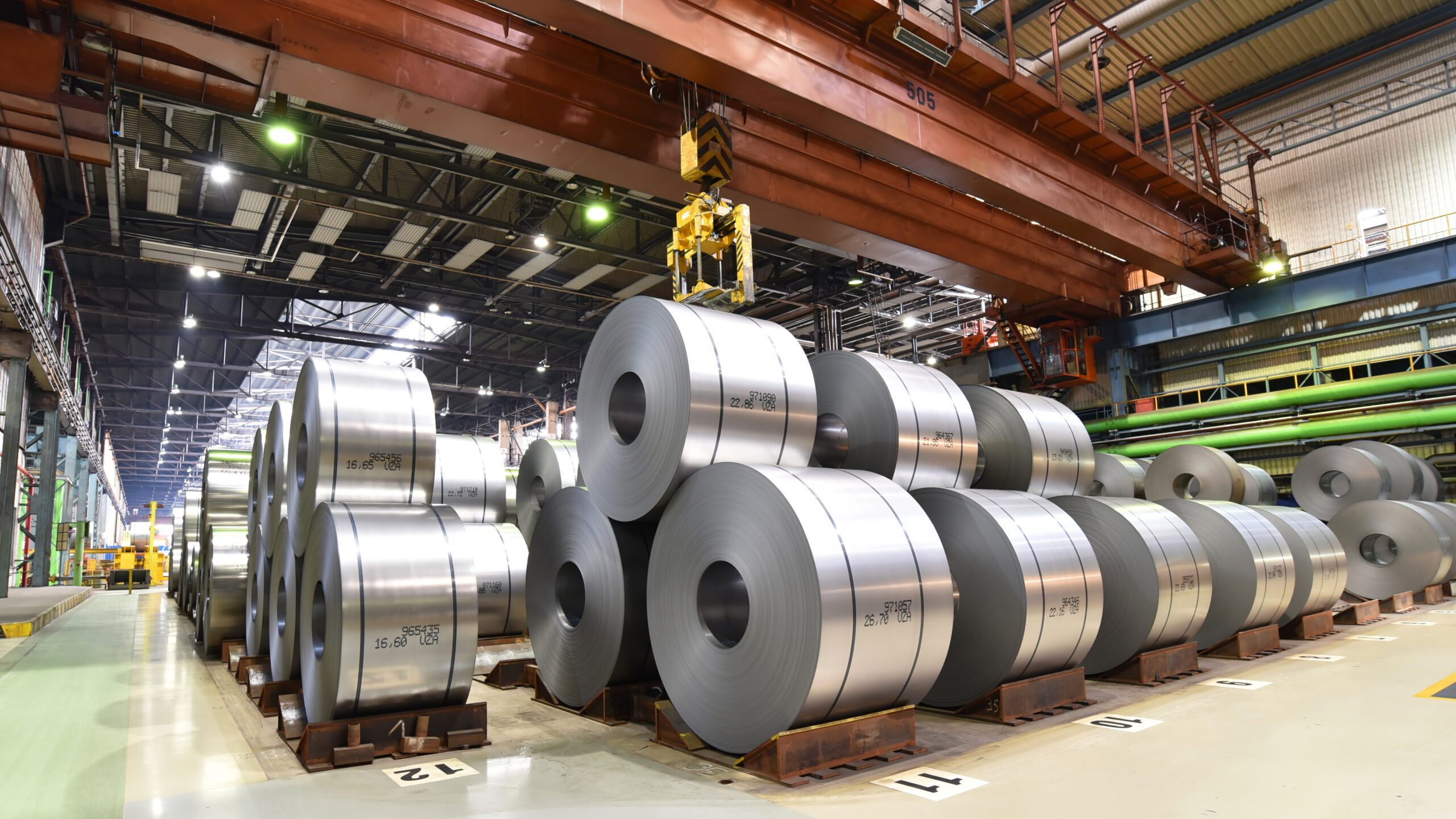 Steel Manufacture – Safe Access to Machinery