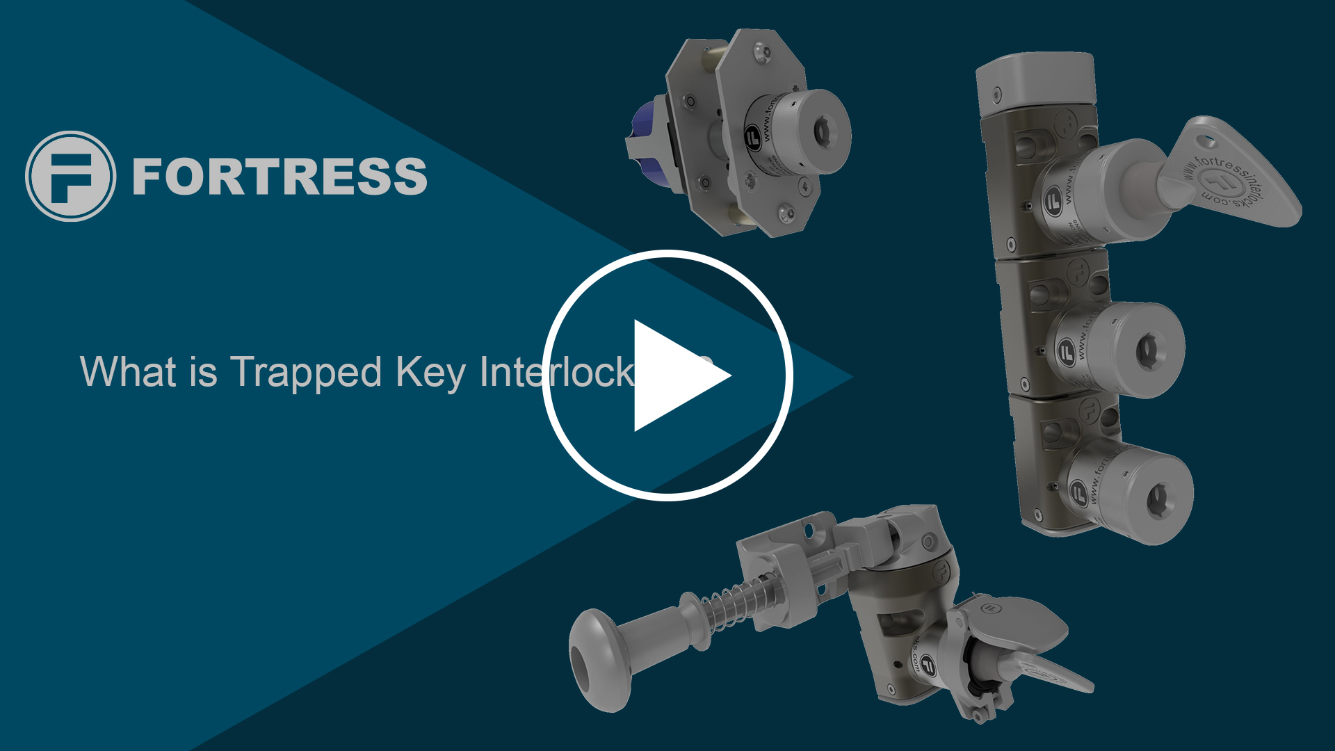 What is Trapped Key Interlocking?