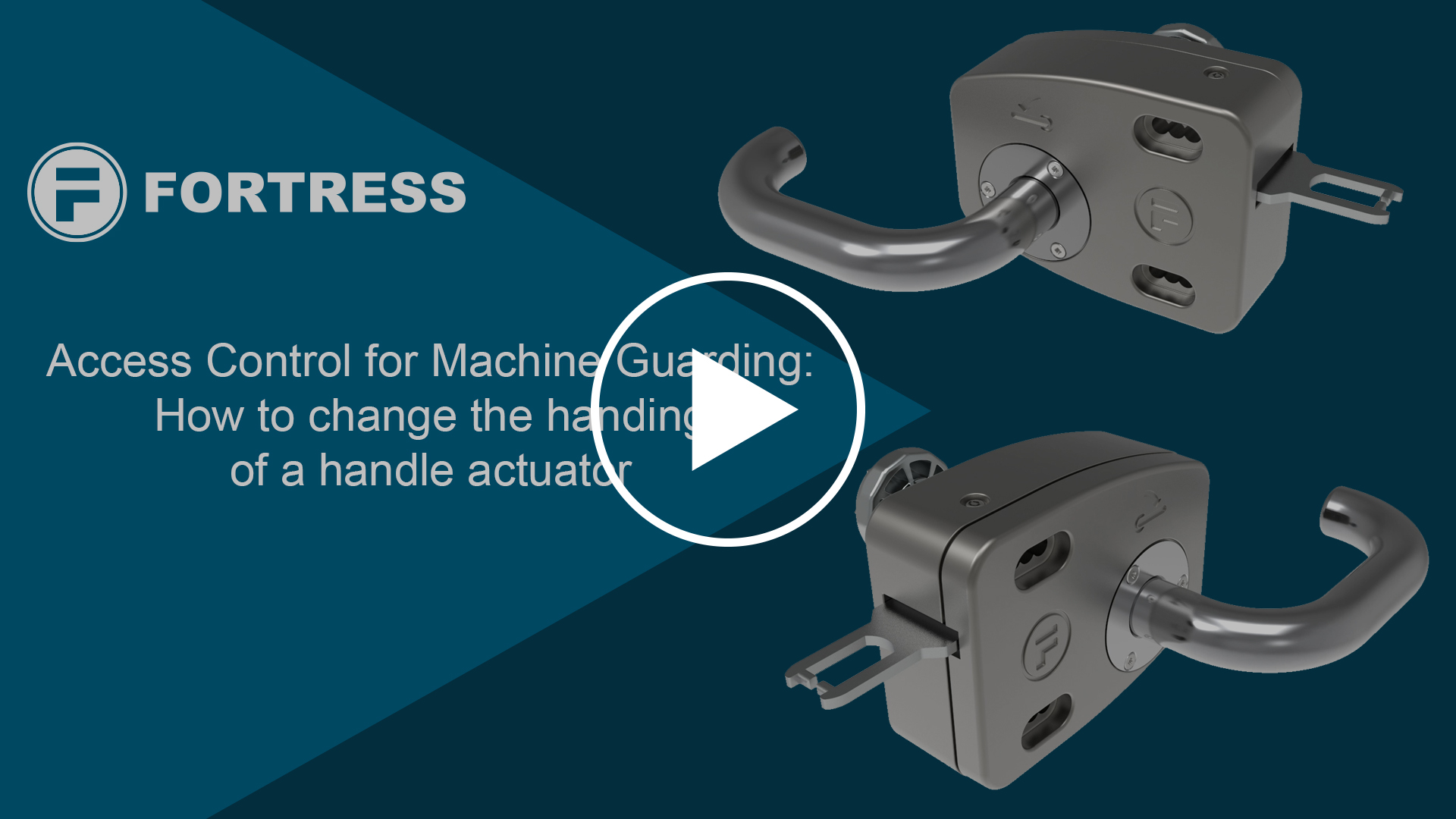 FAQ – tGard – How to change the handing of a handle actuator