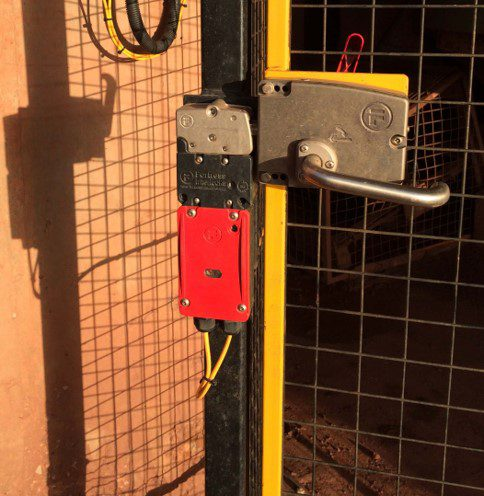 Controlled Access with Solenoid Locking – Heavy Duty Interlocking