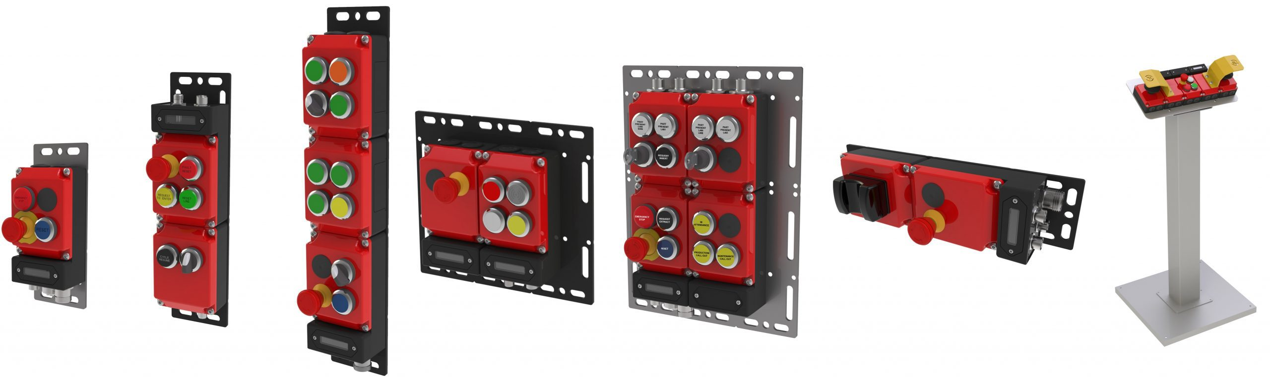 Push Button Control Examples