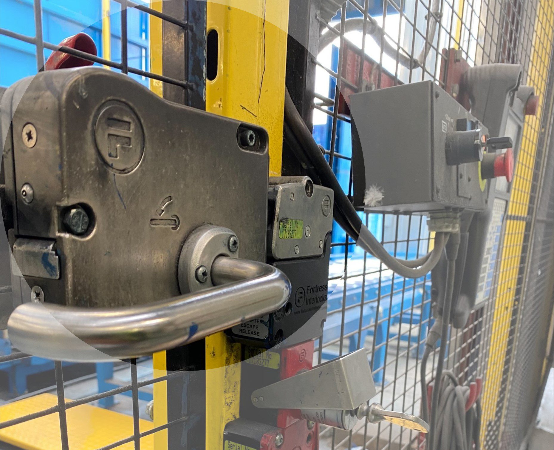 Heavy Duty Actuator for Entry Access