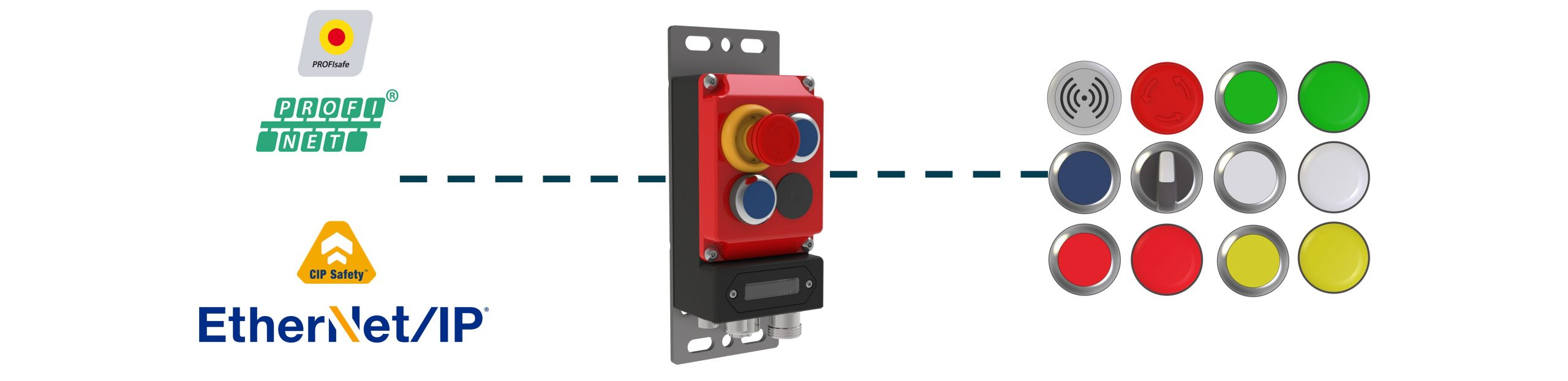 Networked Push Button Controls